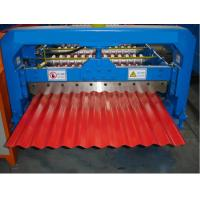 arch corrugated steel roof machine