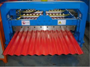 China arch corrugated steel roof machine on sale