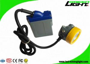 China 1000 Battery Cycles Mining Hard Hat Led Lights 15000lux High Beam Corded Lamp on sale