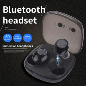 China Double-ear Noise Reduction of Mini-contact Running and Listening Songs of Wireless Sports TWS Bluetooth Earphone on sale