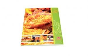 China Customized Offset CookBook Printing Perfect Binding With UV Coating on sale