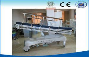 China Hydraulic Medical Exam Table , Examining Bed Hospital Furniture on sale