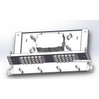 48 Cores Ftth Fiber Optic Terminal Box With SC Adapters , Fiber Optic Junction Box