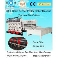 Horizontal Packaging Carton Folding Machine Semi - Automatic With Pneumatic Locking