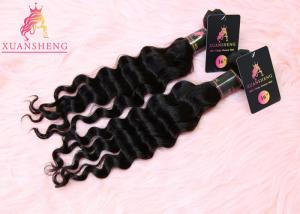 China 100 Human Hair Weaving Hair , Loose Wave Human Hair Extension 9A Grade on sale