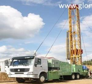 China 3000m drilling depth CBM drilling rig on sale