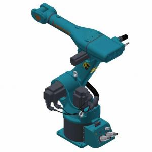 China Teach Pendant Robotic Welding Systems 3kg 5kg 6kg 10kg 20kg 30kg 50kg 60kg 80kg Payload on sale