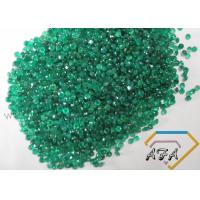 Round Shape 1.1mm Natural Loose Gemstones Beads Green Agate Rough