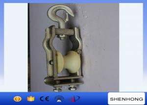 China Universal Stringing Conductor Cable Pulley Block With Hook SHC-120X58 on sale