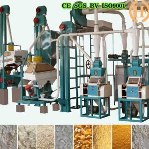 China Gorgeous capacity 20-30T/D corn maize milling machinery for sale on sale