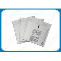 160 × 160 Light-Weight Plastic Film Protective Poly Bubble Envelopes , Printed Bubble Envelopes