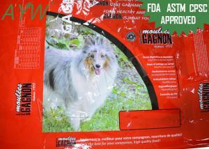 China calor 30kg - os alimentos para animais de estimação de selagem de Mylar ensacam a prova Reclosable da umidade/oxigênio on sale