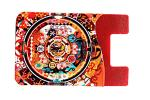 3M Sticker Silicone Credit Card Holder Full Color Printing Logo OEM / ODM Accepted