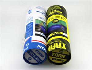China Recycled Empty Paper Cans Packaging For Packing Badminton Tennis and Golf Balls on sale