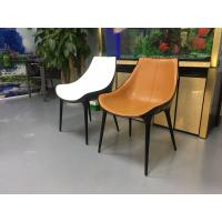 Upholstered Soft Solid Wood Dining Chairs / Diana Modern Leisure Chair
