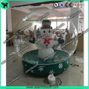 China Transparent Inflatable Show Ball,Inflatable Snow Ball,Christmas Decoration Inflatable on sale