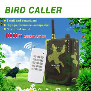 China Newgood Mp3 Bird caller speaker with 1000 meters remote control support on sale