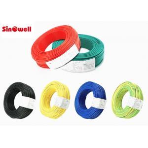 China Série résistante à hautes températures d'UL de fil de câble isolée par téflon électrique de veste de bouclier on sale