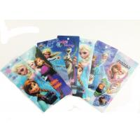 China CMYK Printed PET Lenticular 3D Bookmarks With Two Sides Printing on sale