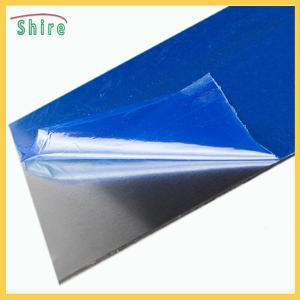 China Stainless Steel Processing Temporary Black & White Protective Film on sale