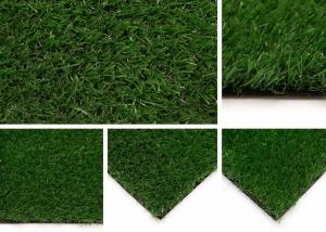 China PE Green Artificial Grass / Landscaping Grass Environmental on sale