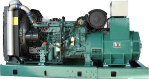 Quality Volvo 400 kva Open Type Diesel Generator 50 / 60HZ With Deepsea Controller for sale