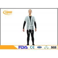 PP NoN Woven SPA Disposable Kimono Robe , Spulance Kimono Gown Robes