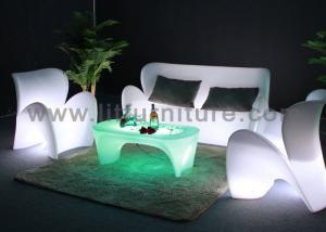 China Conception moderne lumineuse par PE rechargeable de sofa de lumière du plastique RVB LED on sale