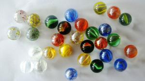 China Colors Handmade Glass Balls christmas decorations for business gift on sale