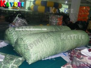 China Inflatable paintball Bunker giant tree log,digital printing Deluxe Tactical Field, KPB032 on sale