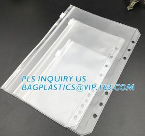 China Biodegradable Page Banknotes Postage Stamp Pockets Transparent PVC Money Album Loose-leaf Sheet Holders page bags holder on sale
