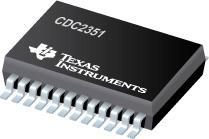 China 650mW 100MHz Analog Clock Circuit Clock Buffer 1-Line to 10-Line Clock Driver CDC2351DB on sale