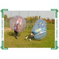 Transparent loopy ball soccer inflatable bubble suit with TPU