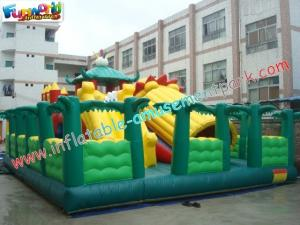 China Colorful Outdoor Giant Inflatable Theme Park Games / Toys Waterproof on sale