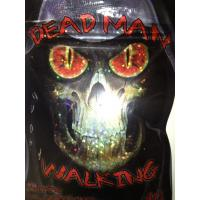 Dead Man Walk Foil Herbal Incense Packaging / Research Chemcial Powder Pouches