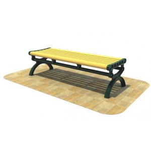 China ISO9001 Outdoor Plastic Bench Seats Waterproof Wpc Composite on sale