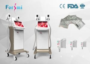 China 15 inch screen three handles equipment Champagne Cryolipolysis Slimming Machine on sale