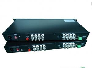 China Video fiber converter(16V1D, IP optional) on sale
