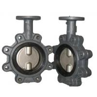 "Lug Type Casting Iron Material Concentric Butterfly Valves NPS2""-48"""