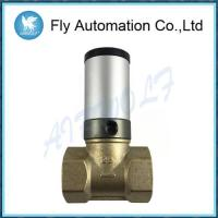 China Q22HD-25 DN25 1 Two Way Brass Tube Valve Pneuamtic Actuator Control Oil Liquid Valve on sale