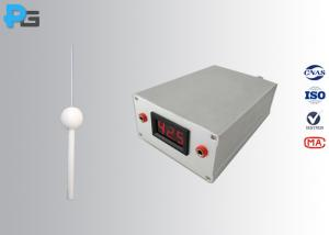 China PG - TPC IP3X Test Finger Probe Lab Testing Equipment With 42V Electrical Indicator on sale