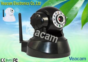 China 300K Pixels CMOS Sensor, Indoor Wireless Infrared Night Vision PTZ IP Cameras on sale