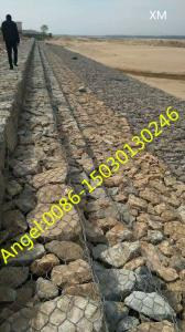 China China 2mx1mx1m Gabion/Direct Factory Hot-Dipped Galvanized Gabion(XM) on sale
