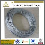 galvanized steel wire rope factory 6x7+fc