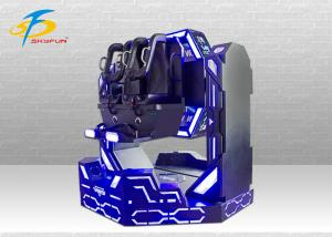 China 9D Cinema Iron Warrior VR Movies Machine Double Cabin 1080 Degree Rotating on sale