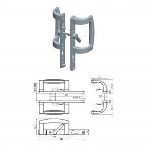 China High Quality Handle for Sliding Door on sale