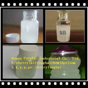China sodium lauryl ether sulfate/ SLES 70% detergent geade on sale