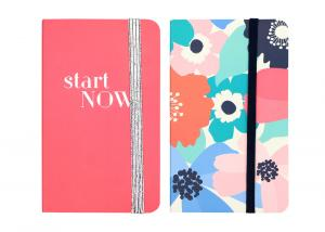 China Customized Personalised Girls Notebook With Custom Pages Student Office Apply on sale