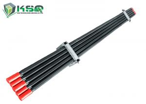 China T38Hex32R32 Extension Rod Threaded Drill Rod T38Hex35R32 Drifter Rod drill rod steel on sale