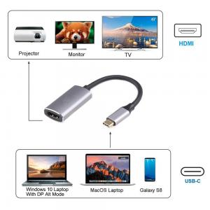 USB-C to HDMI 4K @60Hz Type C to HDMI Adapter,Compatible Thunderbolt